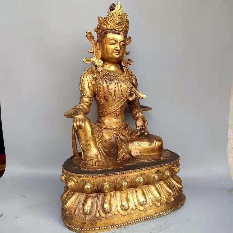 The Buddha Statue of Tan Jin -Qing Dynasty - 4