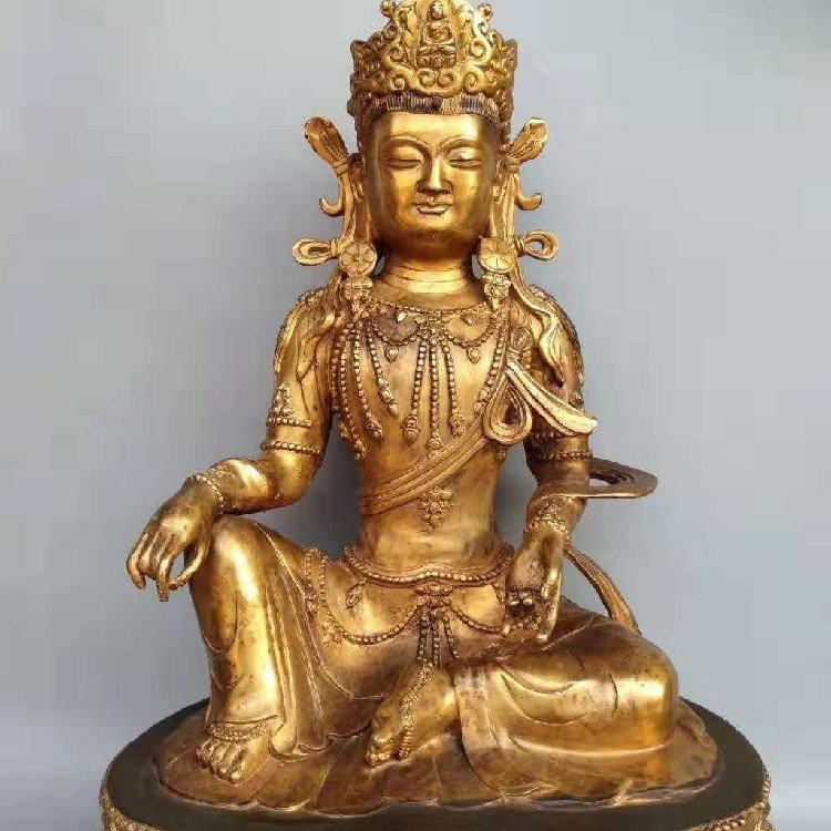 The Buddha Statue of Tan Jin -Qing Dynasty - 5