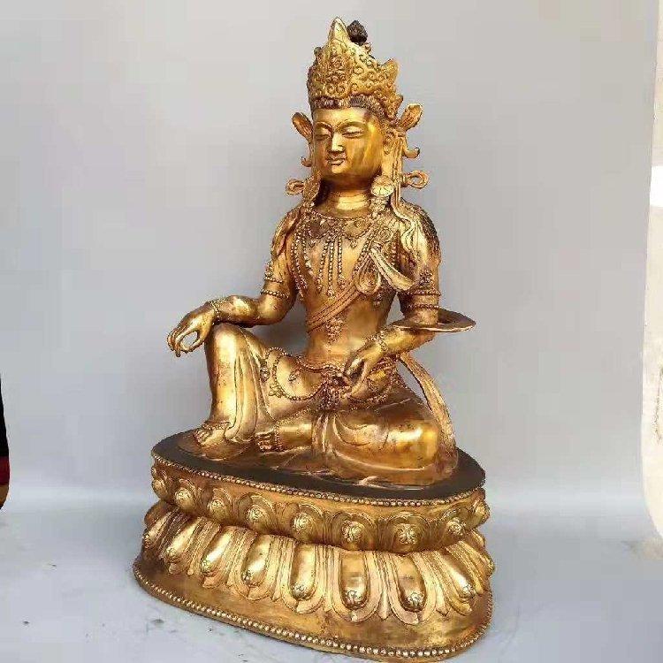 The Buddha Statue of Tan Jin -Qing Dynasty - 6
