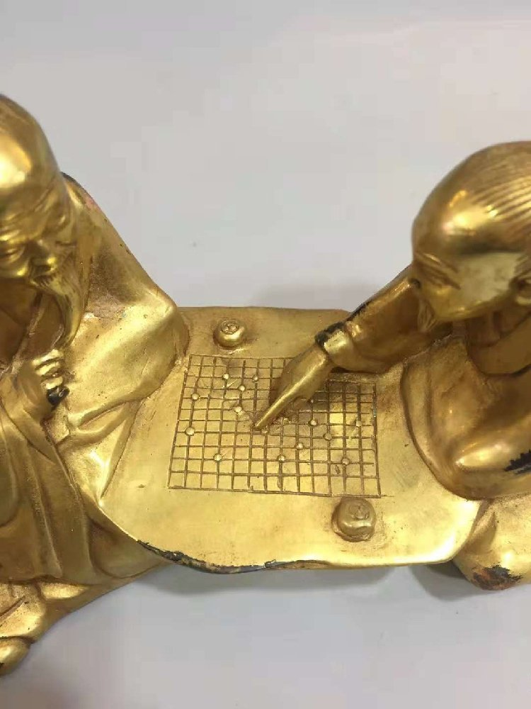 The Old Man of Pure Bronze Plays Chess with the Old Man - 5