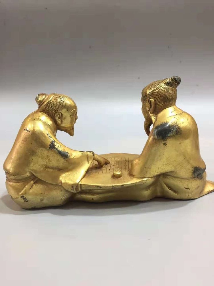 The Old Man of Pure Bronze Plays Chess with the Old Man - 7