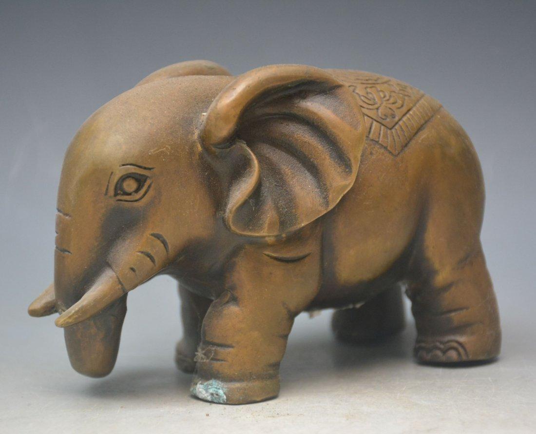 Bronze Ornaments Elephants