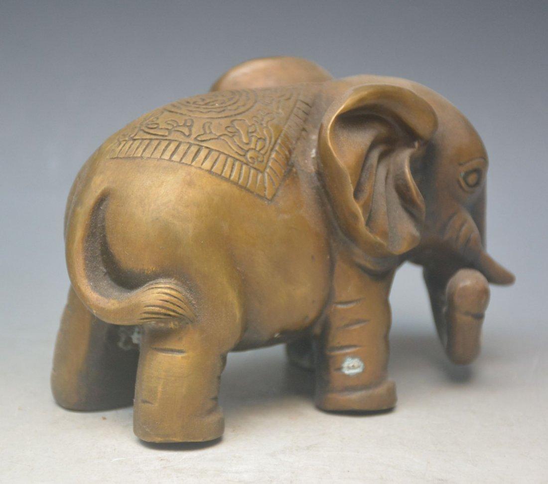 Bronze Ornaments Elephants - 2
