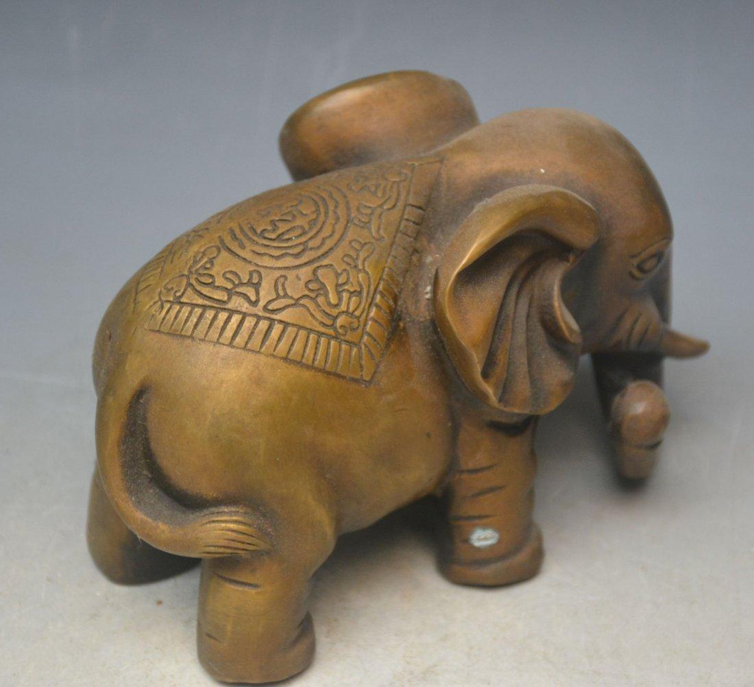 Bronze Ornaments Elephants - 3
