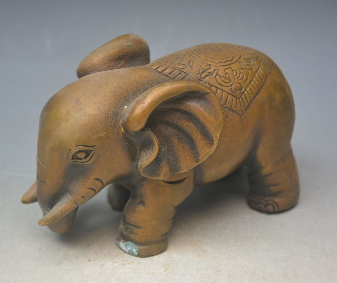 Bronze Ornaments Elephants - 4