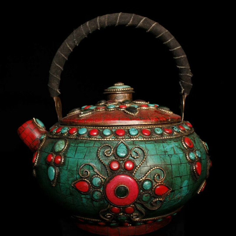 Tibetan temples adopt pure copper