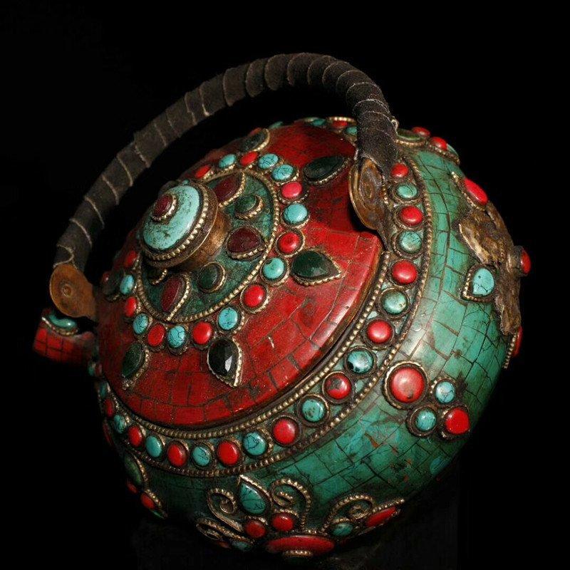 Tibetan temples adopt pure copper - 2