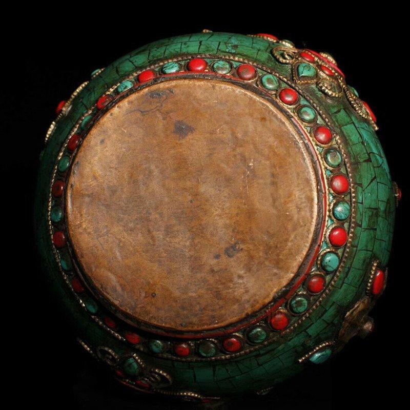 Tibetan temples adopt pure copper - 4