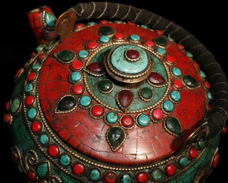 Tibetan temples adopt pure copper - 5