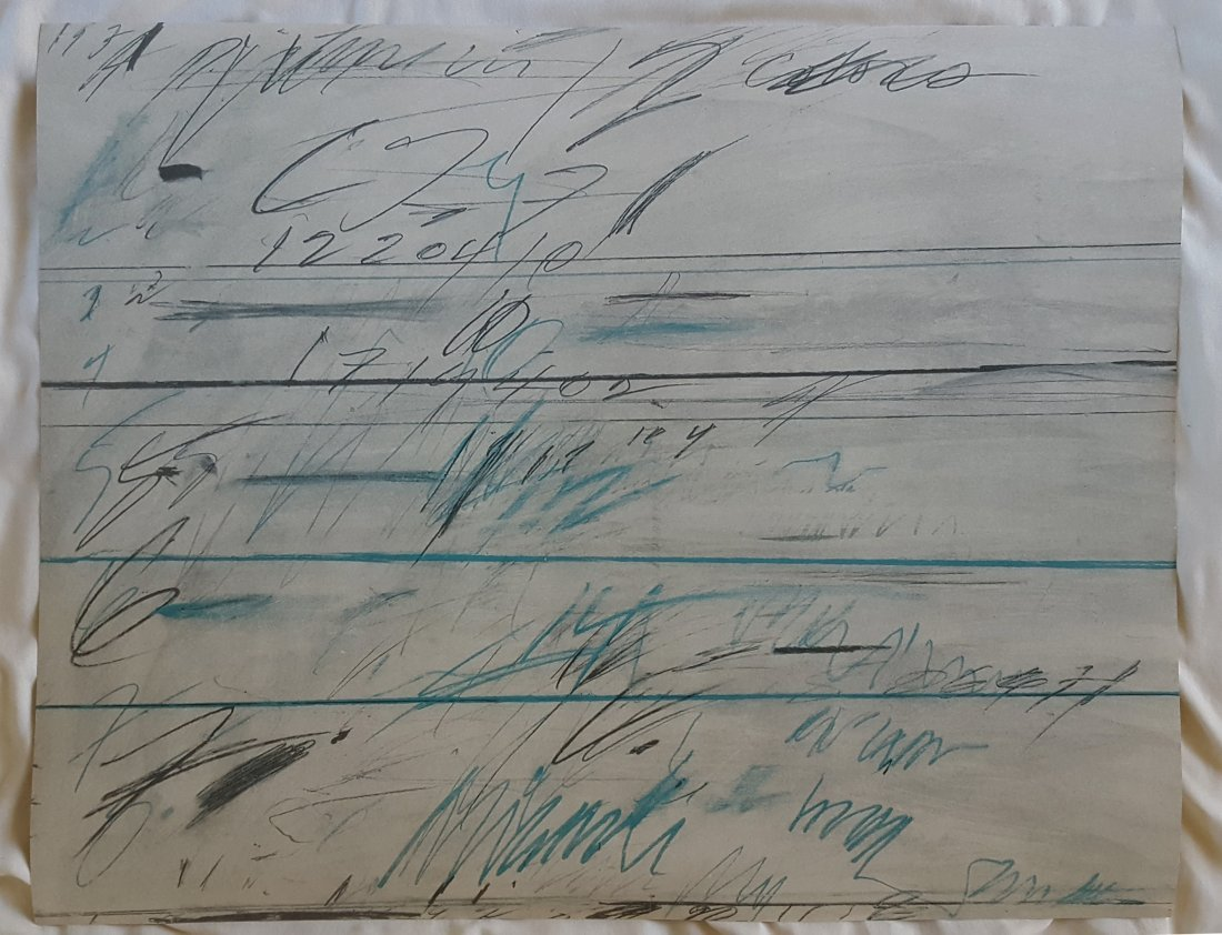 Cy Twombly Untitled 1971 Lithograph - 2