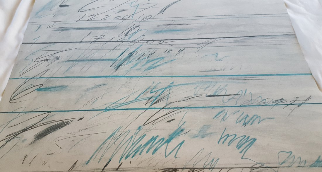 Cy Twombly Untitled 1971 Lithograph - 5