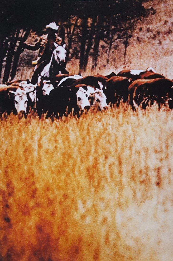 Richard Prince Untitled Cowboy Ektacolor print 1992