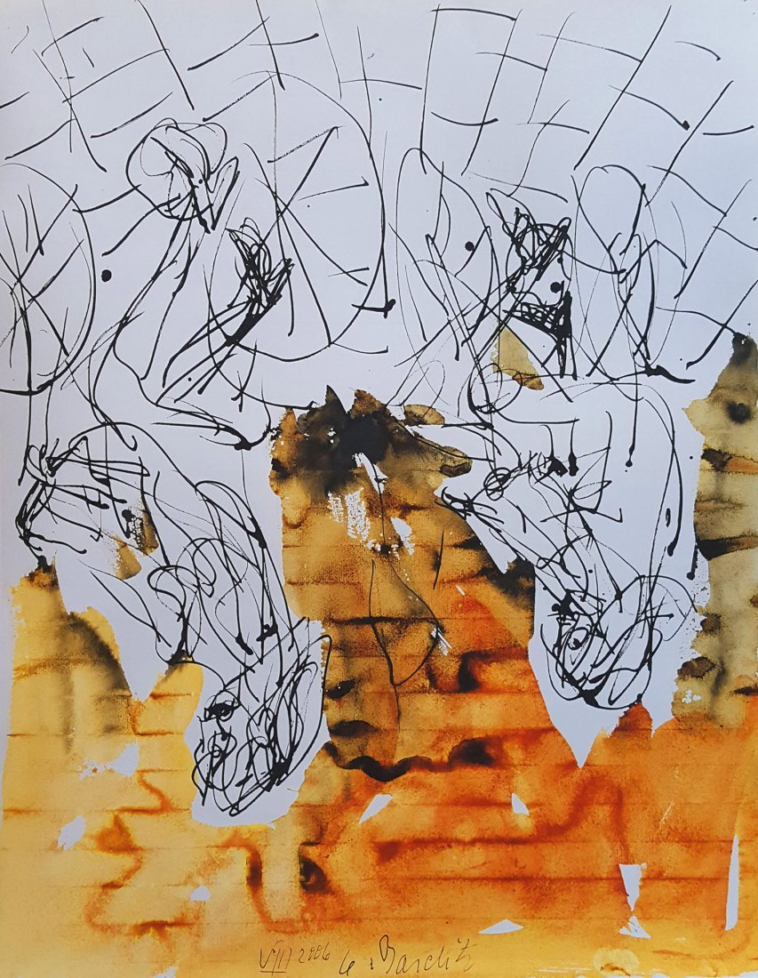 Untitled 2006 Watercolour by Georg Baselitz