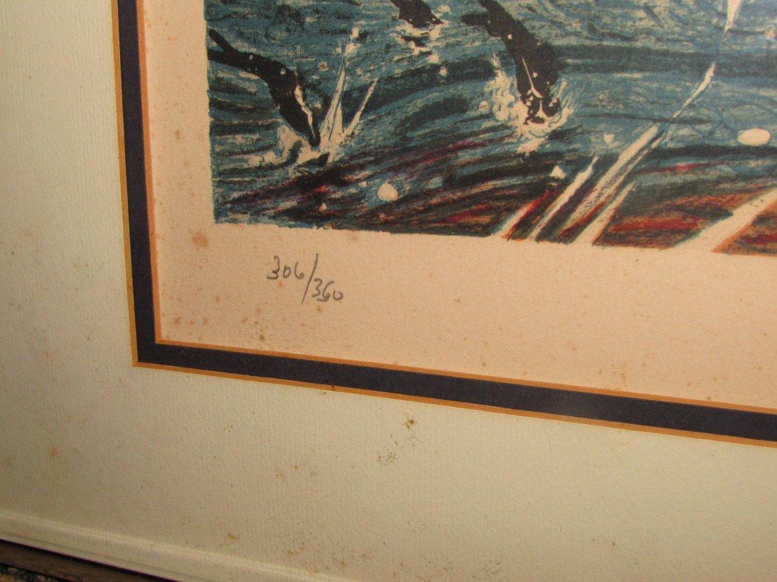 Salvadore Dali Tuna Fishing 1971-72 Signed Lithograph/P - 2