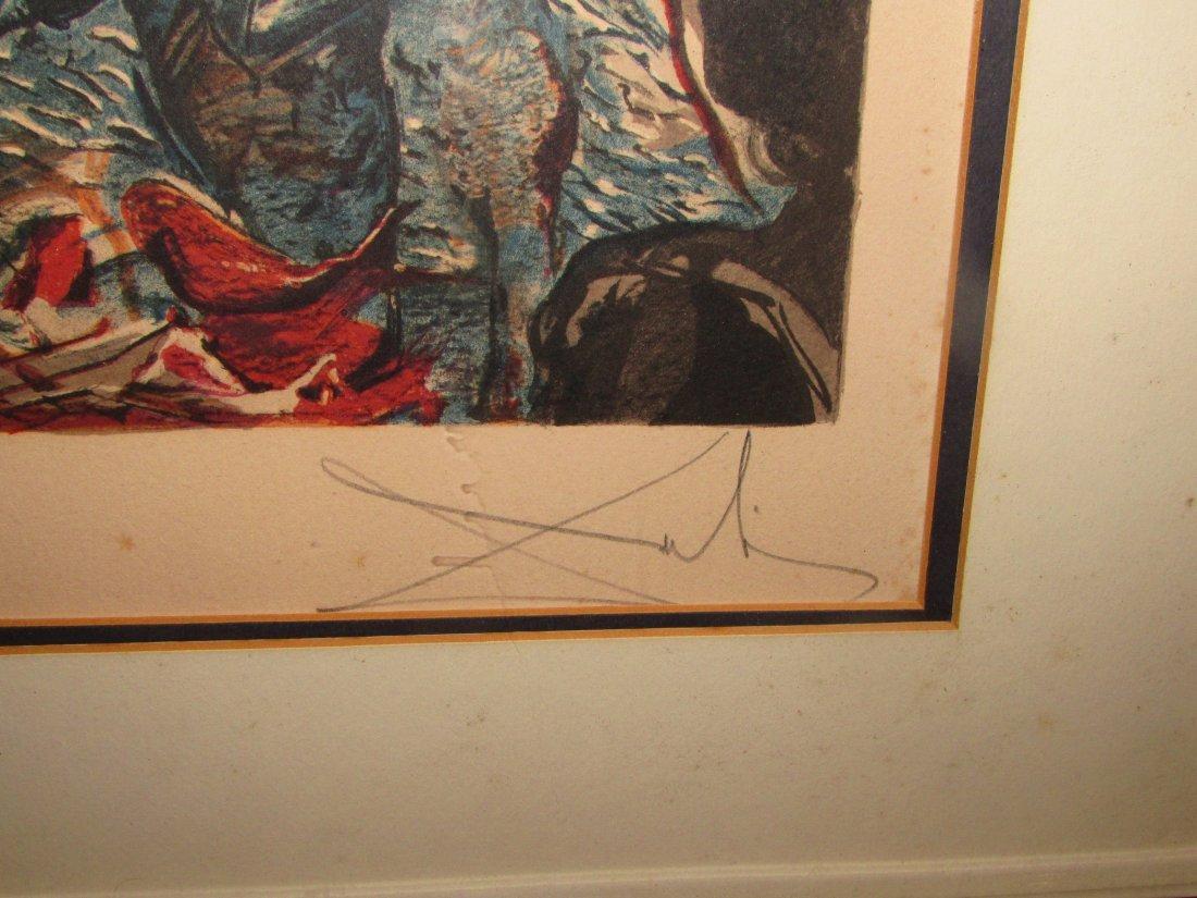 Salvadore Dali Tuna Fishing 1971-72 Signed Lithograph/P - 3