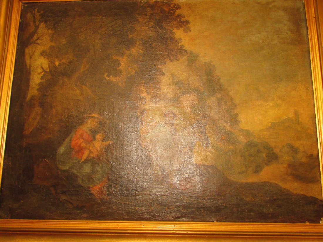 Late 16th/17th Century Italian School Oil Painting - 4
