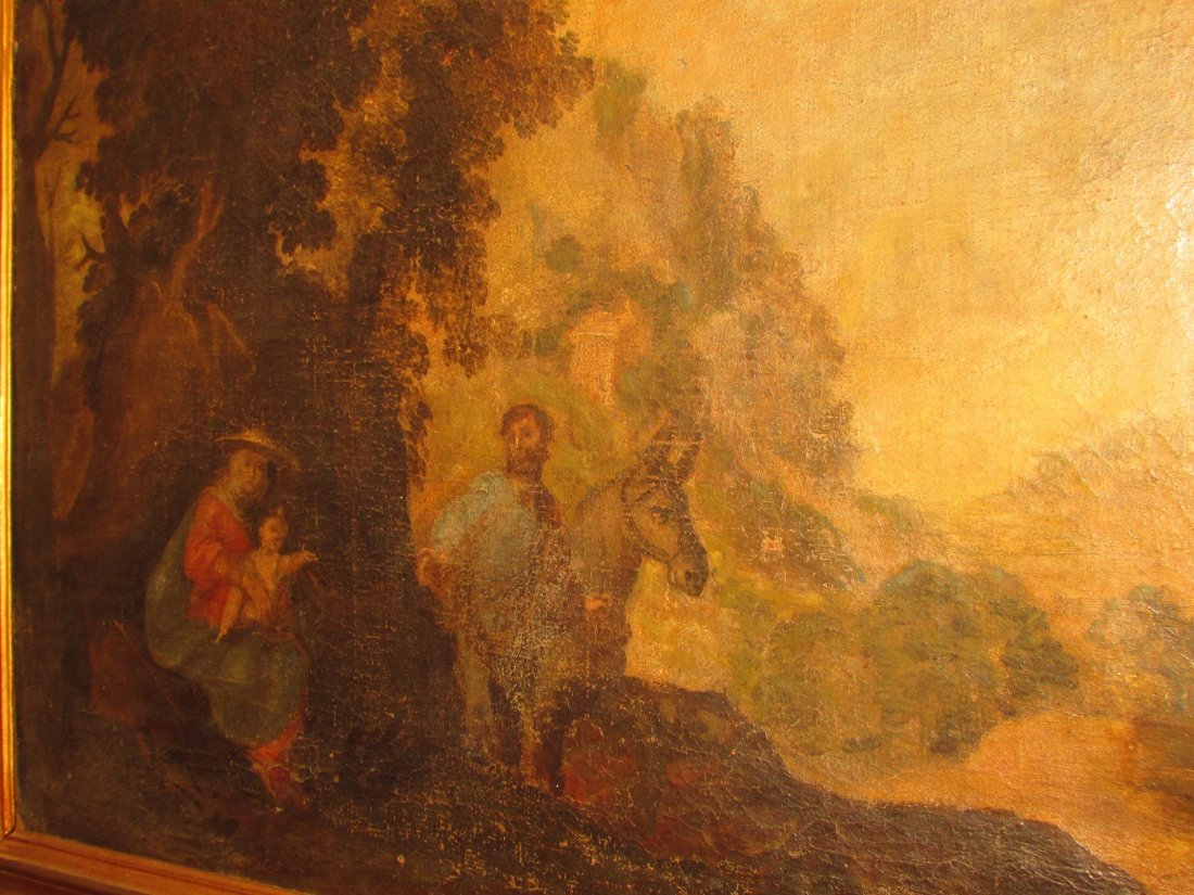 Late 16th/17th Century Italian School Oil Painting - 5