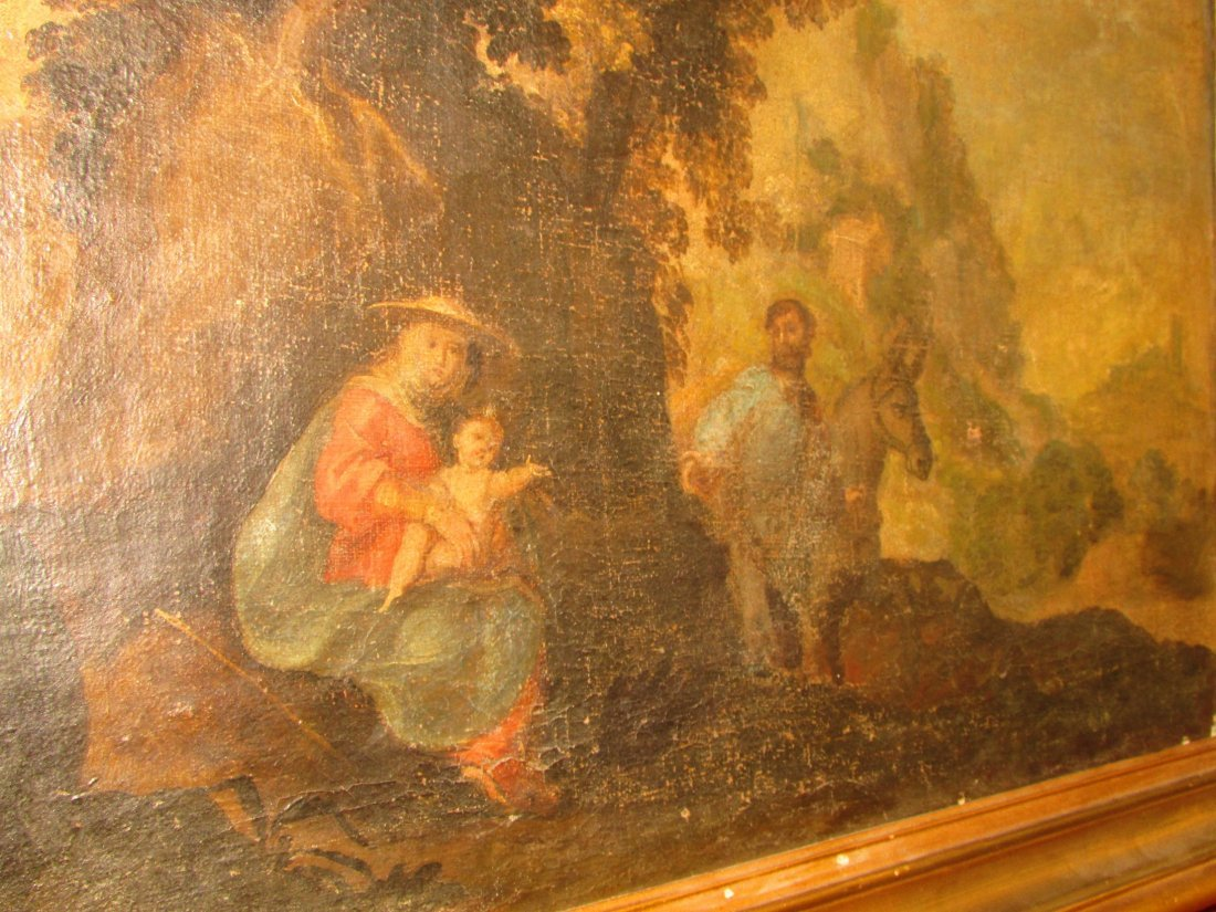 Late 16th/17th Century Italian School Oil Painting - 7