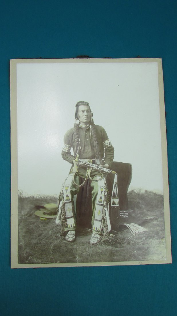Early Photograph Native American Indian Yakima Chief