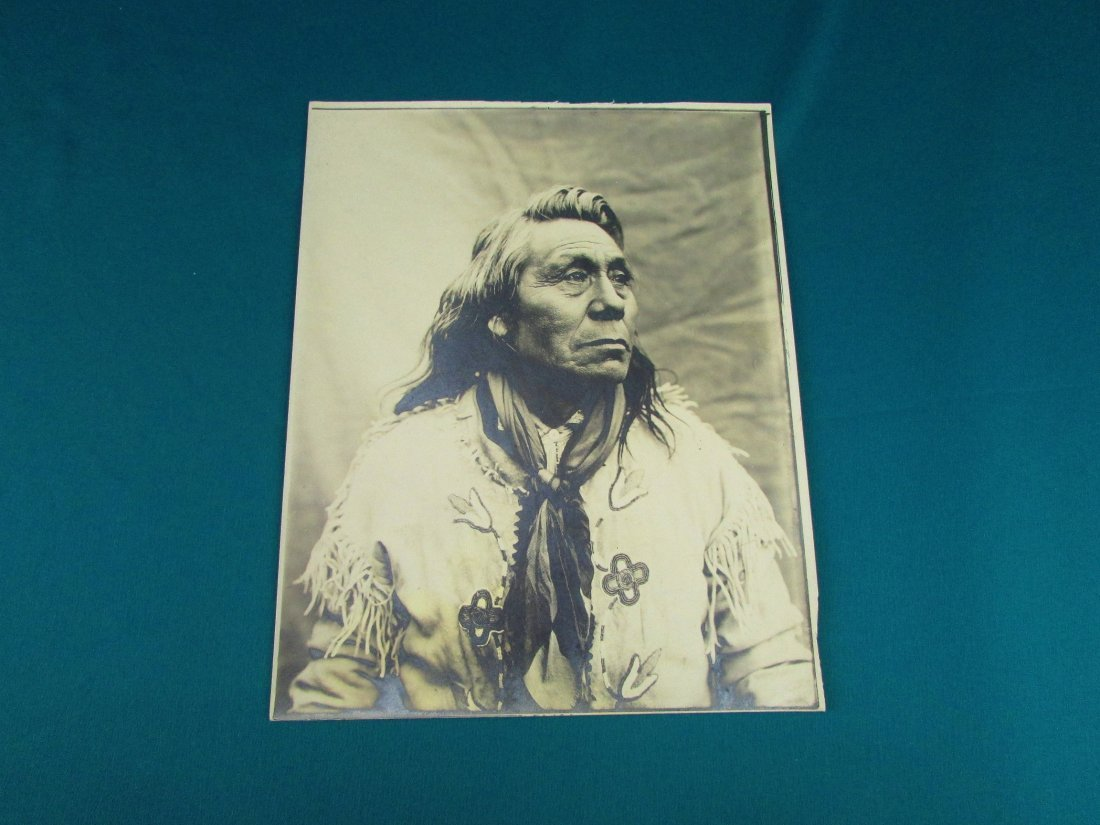 Early Native American Indian Photograph Lee Moorhouse