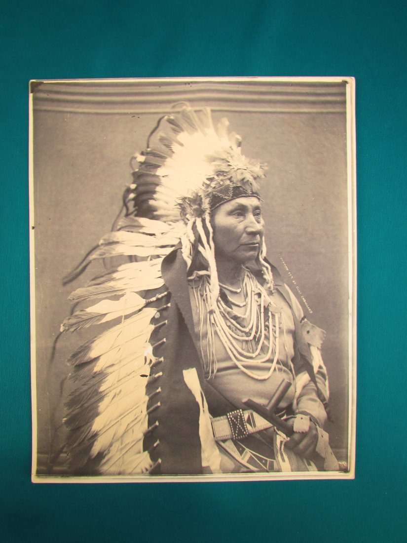Early Native American Indian Photograph 1900 Moorhouse