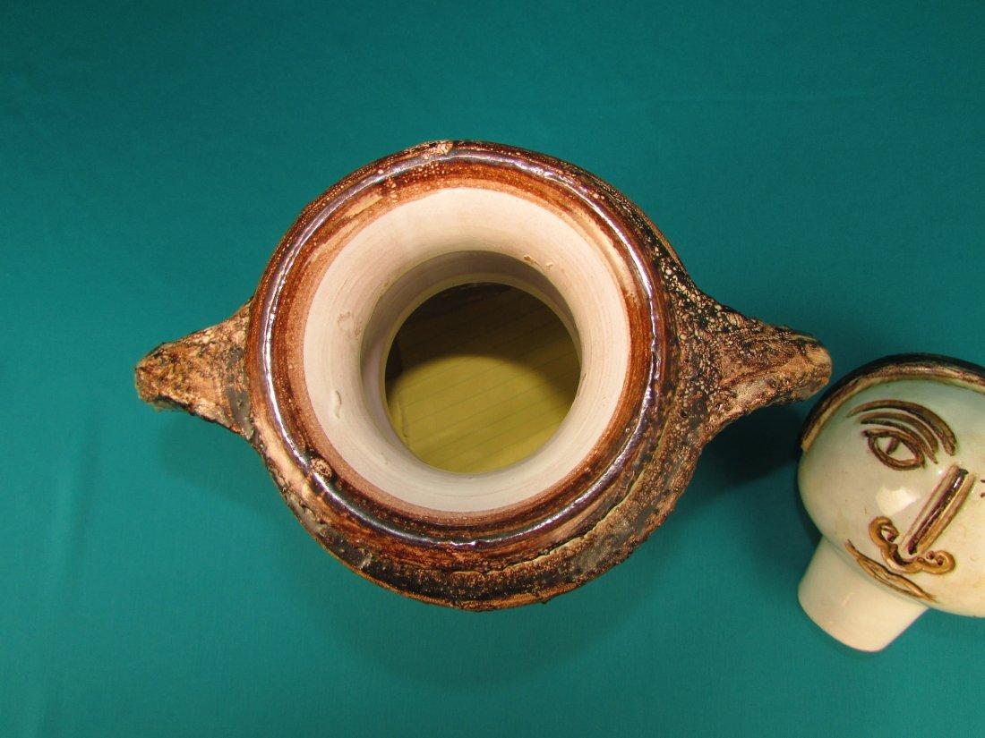 Rosenthal Aldo Londi Modern Art Vase Netter Italy - 5