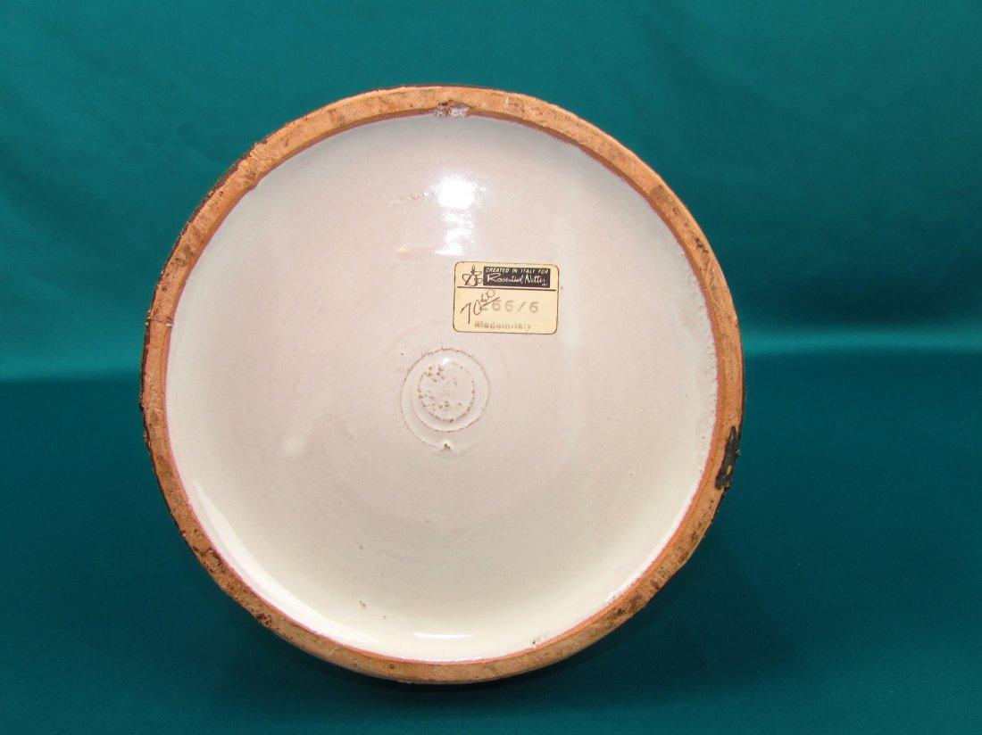 Rosenthal Aldo Londi Modern Art Vase Netter Italy - 6