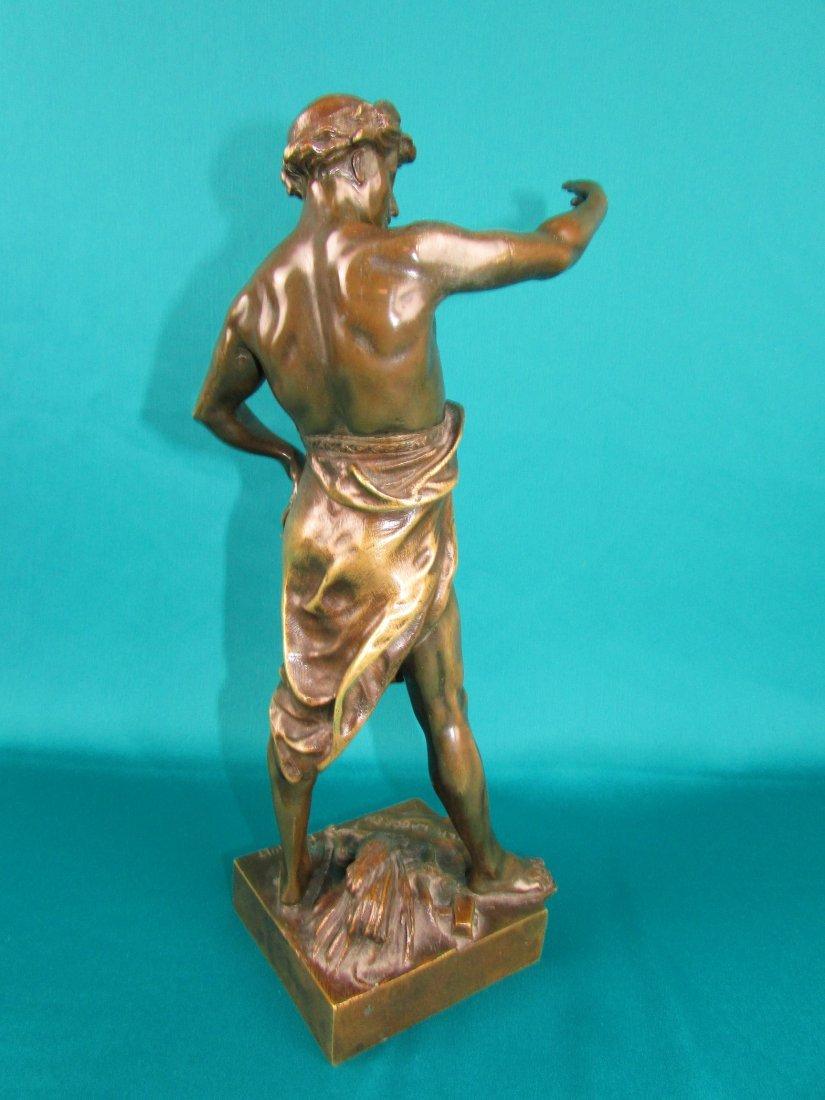 Emile Louis Picault, Bronze Figure A Gloire et Fortune - 4