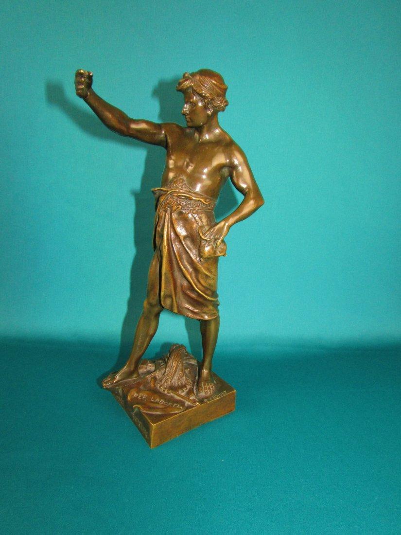 Emile Louis Picault, Bronze Figure A Gloire et Fortune - 7
