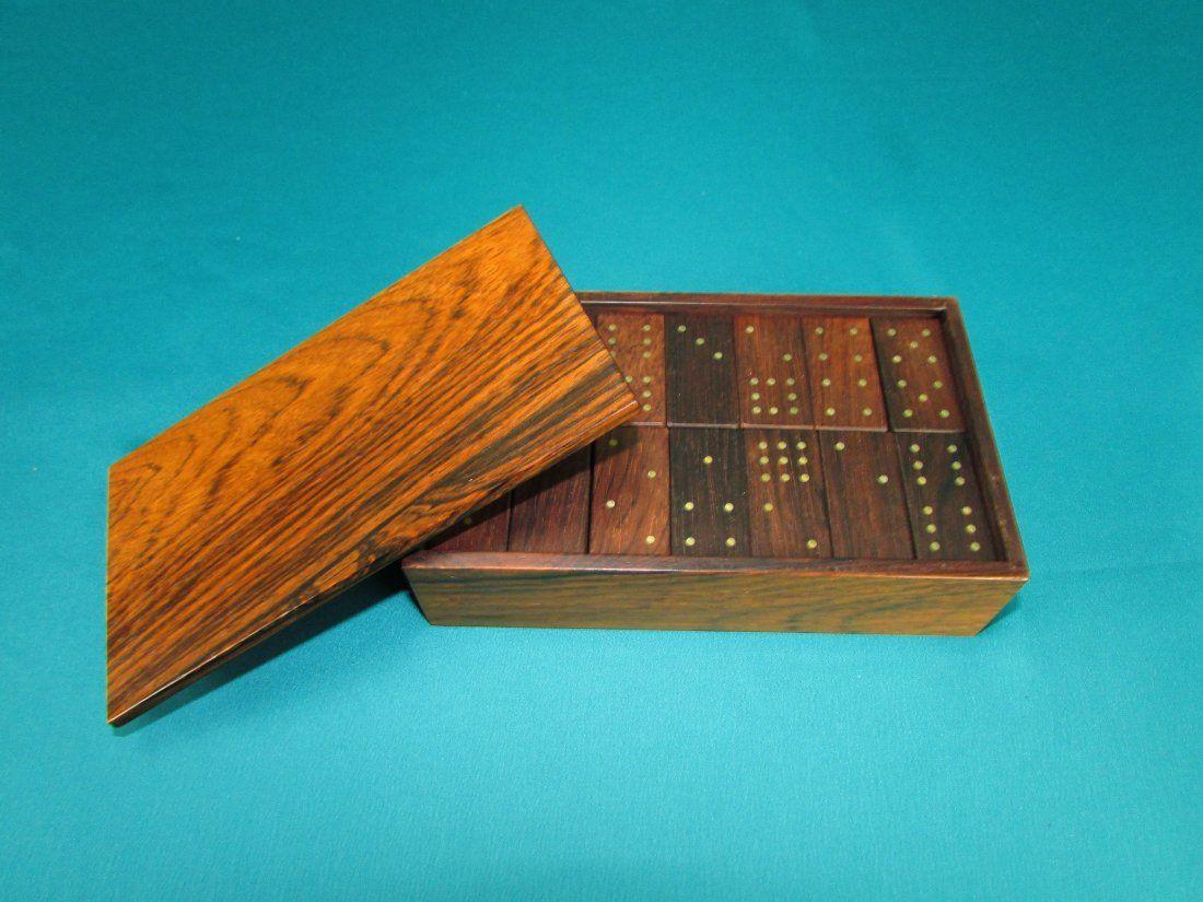 Wooden Domino Set Hand Made Alfred Klitgaard Denmark
