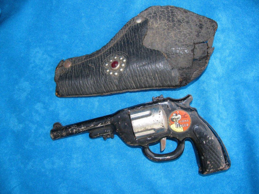 1938 Marx The Lone Ranger HiYo Silver Toy Click Pistol