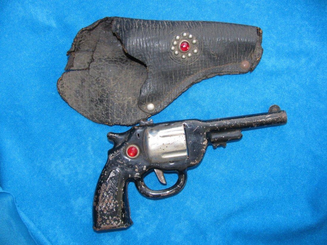 1938 Marx The Lone Ranger HiYo Silver Toy Click Pistol - 3