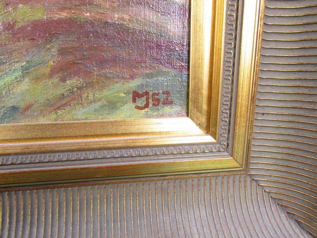 20th Cent. Marius Jensen Hindevad Oil Painting Danish - 3