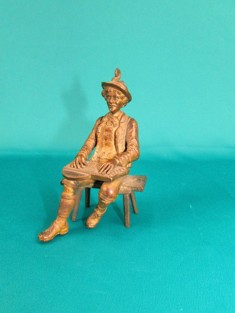 Austro-Hungarian Bronze Statue Circa 1900