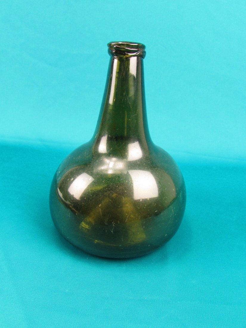 18th cent. Dutch Onion Wine bottle Circa 1740