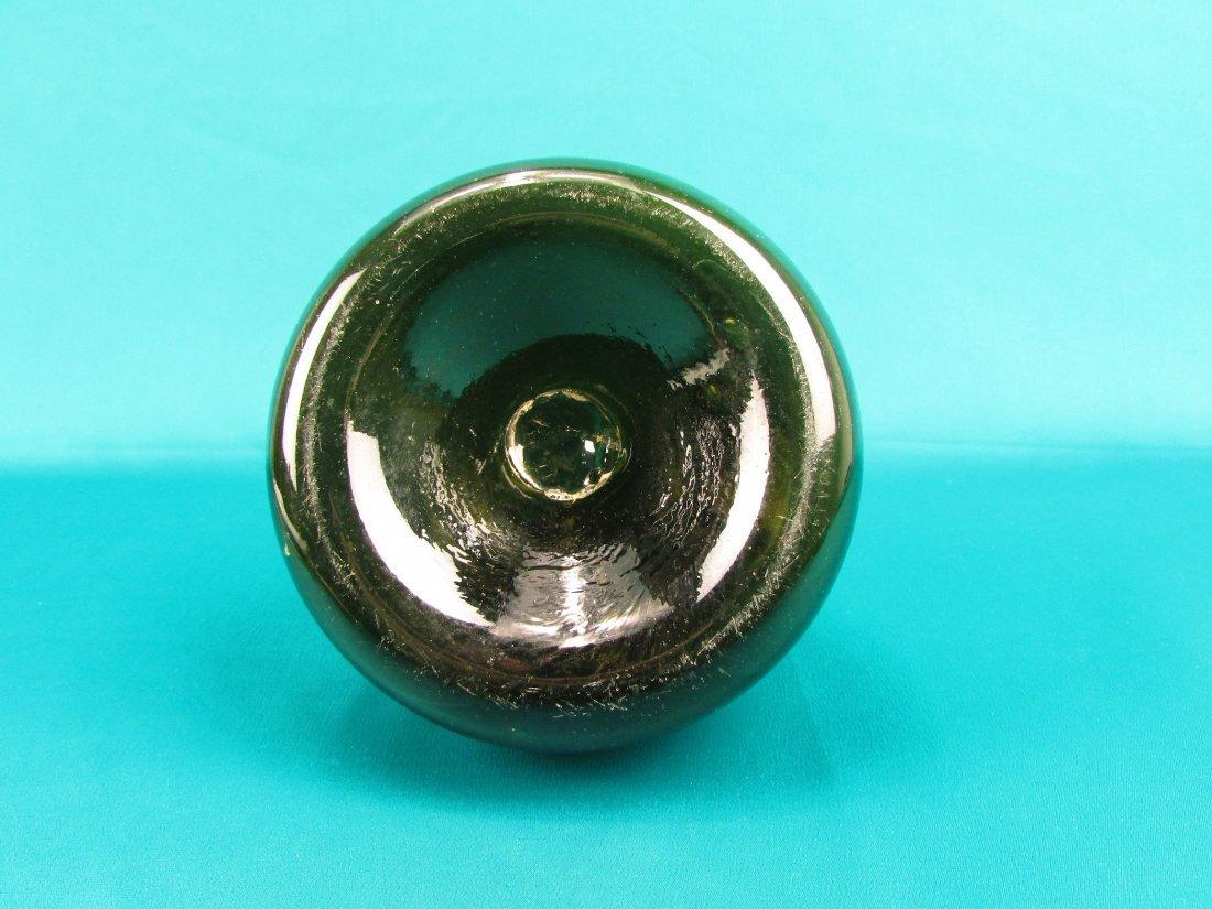 18th cent. Dutch Onion Wine bottle Circa 1740 - 4