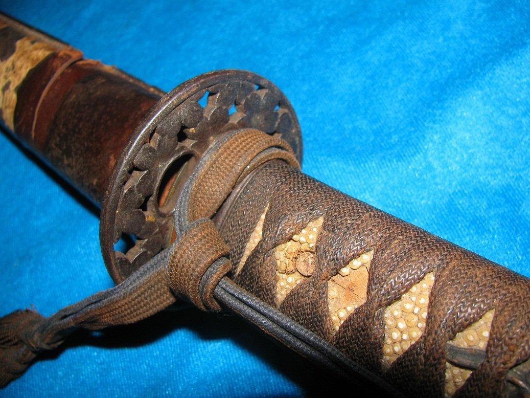 Japanese Sword Katana Late Koto Period 1590-1620 WW2 - 3