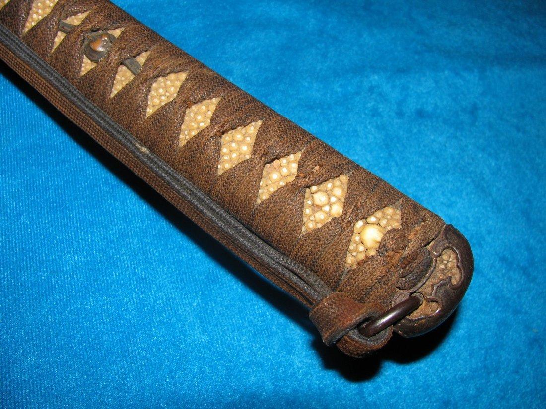 Japanese Sword Katana Late Koto Period 1590-1620 WW2 - 4