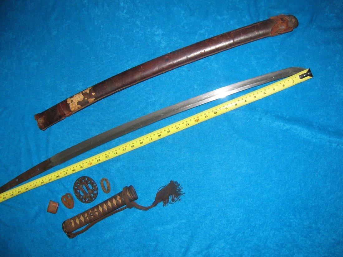 Japanese Sword Katana Late Koto Period 1590-1620 WW2 - 9