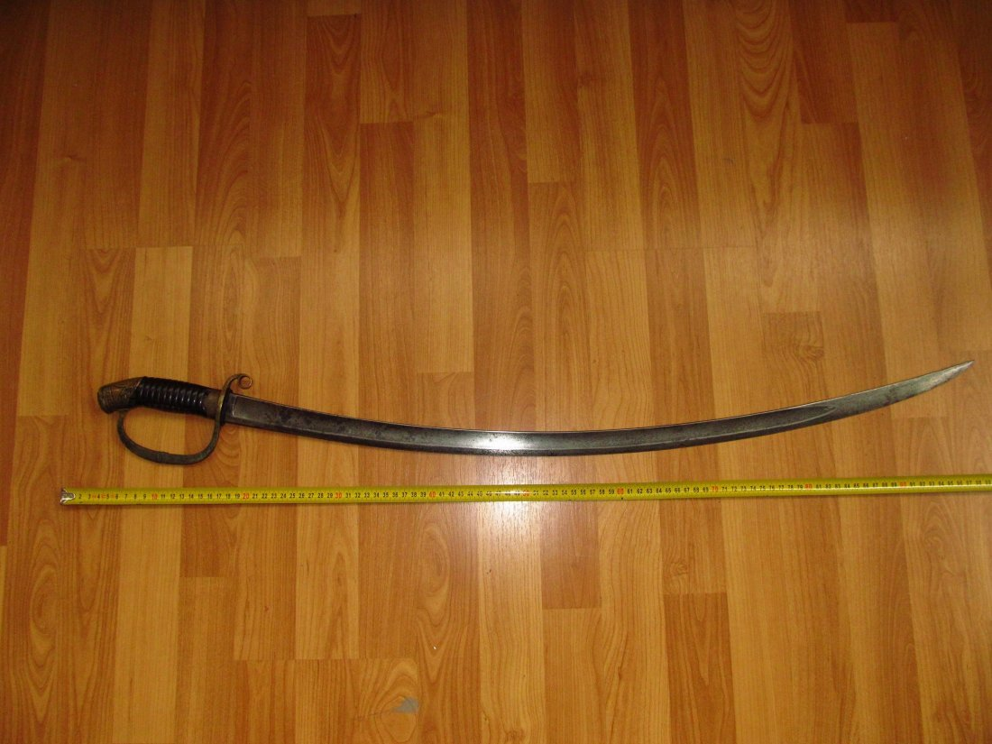 1909 Imperial Russian Officers Sword NII Blade Date1855