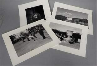 7 Photographs signed Brooklyn Photographer N Jay Jaffee
