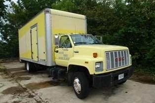 1101: 1991 GMC TOP KICK SLE TRUCK