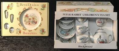 Peter Rabbit  Bunnykins Childs Sets