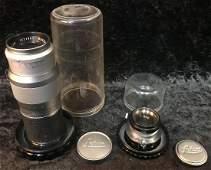 2 Leica Camera Lenses Including Hektor