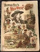 1894 Buffalo Bills Wild West Program Rough Riders