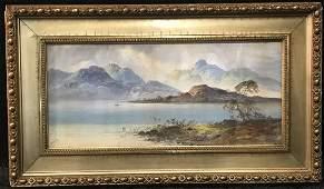 Earp William Henry Watercolor Landscape