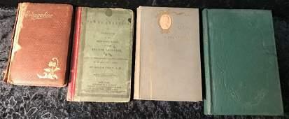 4 Victorian Era Hardcover Books