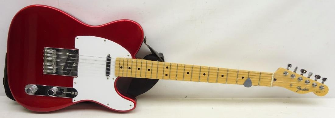 Fender Telecaster electric Guitar made in Japan,  Candy