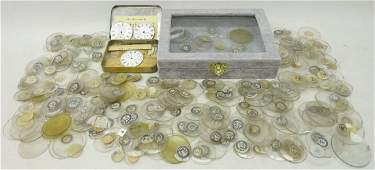 Large quantity of new old stock pocket watch