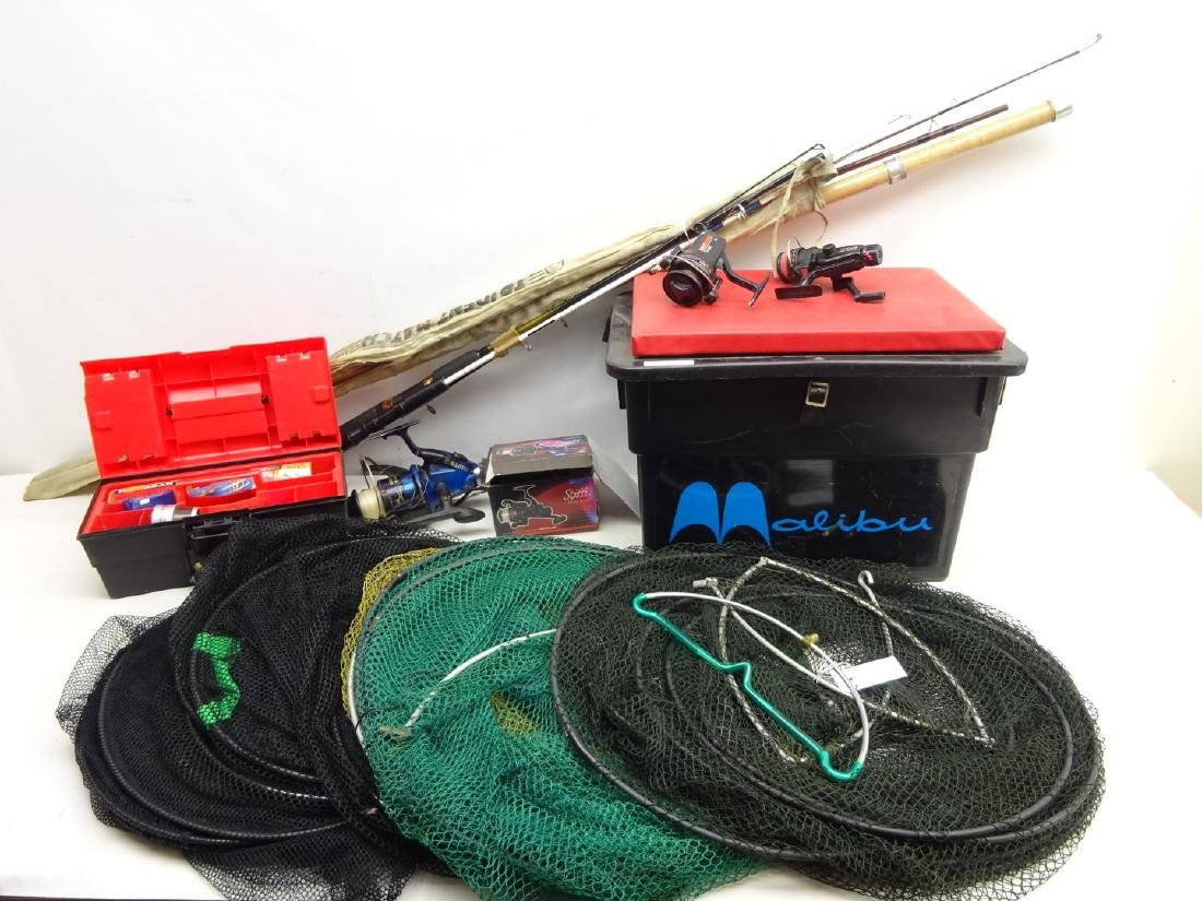 Collection of Coarse Fishing tackle including Daiwa,